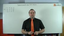 Lernvideo, Nachhilfevideo - 4x4-Determinante