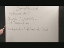 Lernvideo, Nachhilfevideo - Aggregatzustände