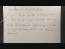 Lernvideo, Nachhilfevideo - Compton Effekt