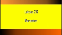Lernvideo, Nachhilfevideo - Tube School DfM 2.6: Deutsch/ Wortarten/ Adjektive